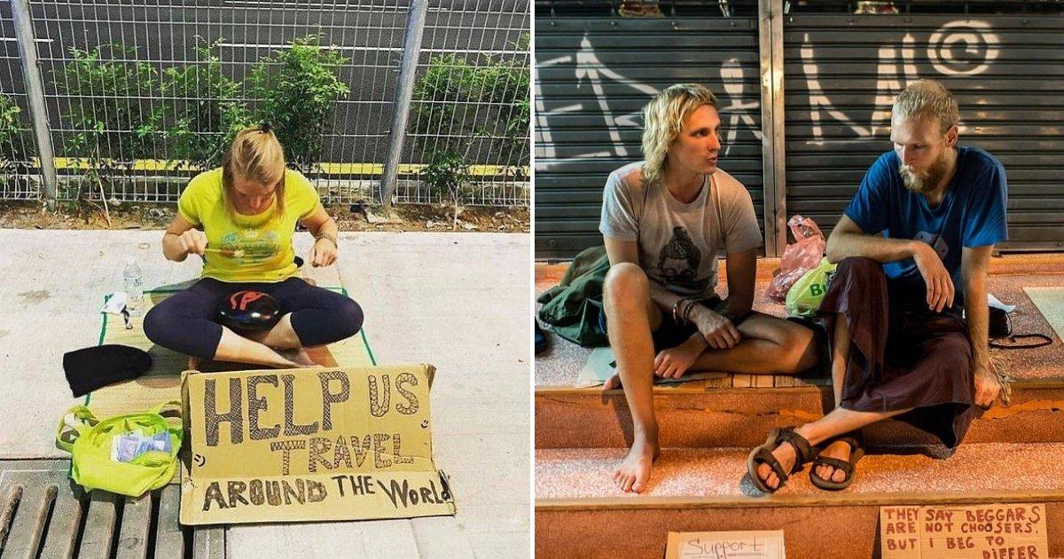untitled design 6.png?resize=300,169 - Les autorités s'attaquent aux touristes qui demandent de l'argent aux locaux pour financer leurs voyages