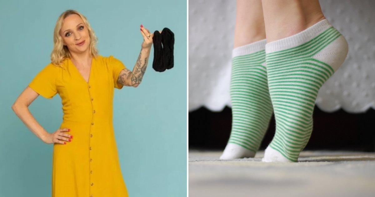 untitled design 62 2.png?resize=412,232 - Une femme d'affaires gagne jusqu'à 4 000 euros par mois en vendant ses chaussettes et chaussures usagées en ligne