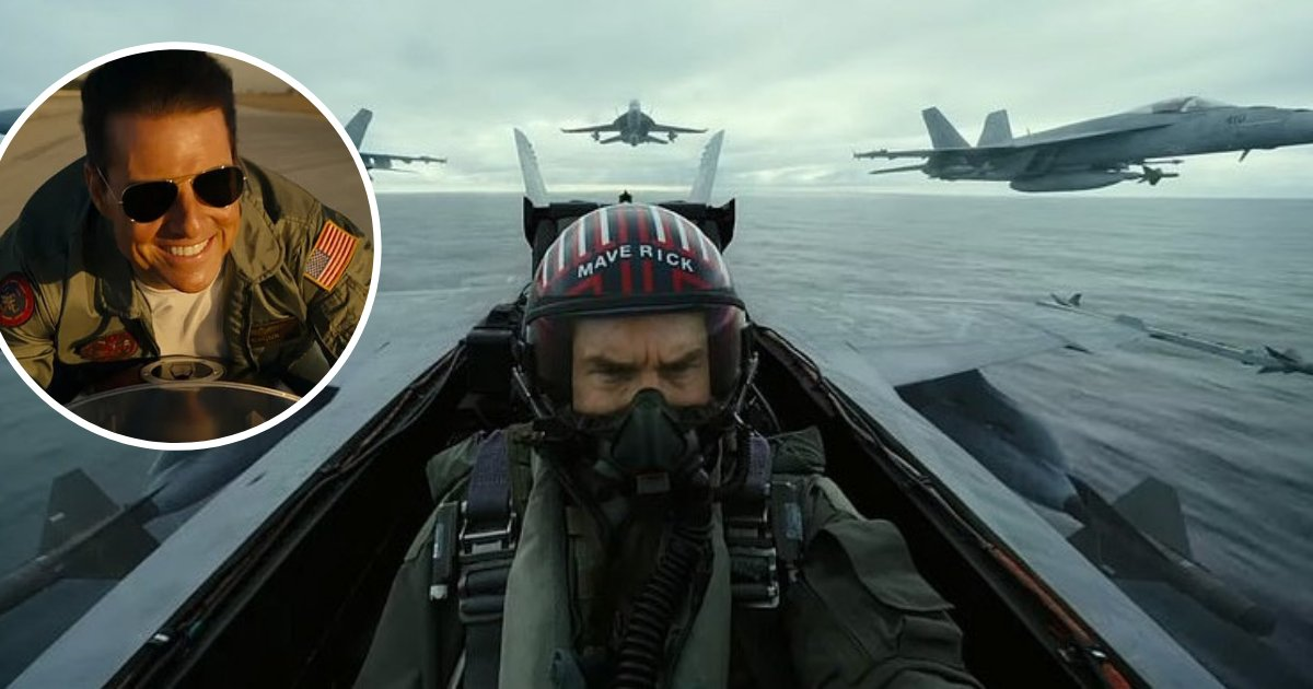 untitled design 7 1.png?resize=1200,630 - Top Gun Maverick Trailer Is Finally Here And Tom Cruise Looks Just As Cocky As Ever