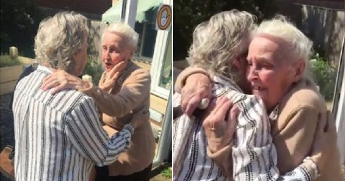 untitled design 70.png?resize=1200,630 - Sweet Moment Sisters With Alzheimer's Are Reunited After 15 Years Apart