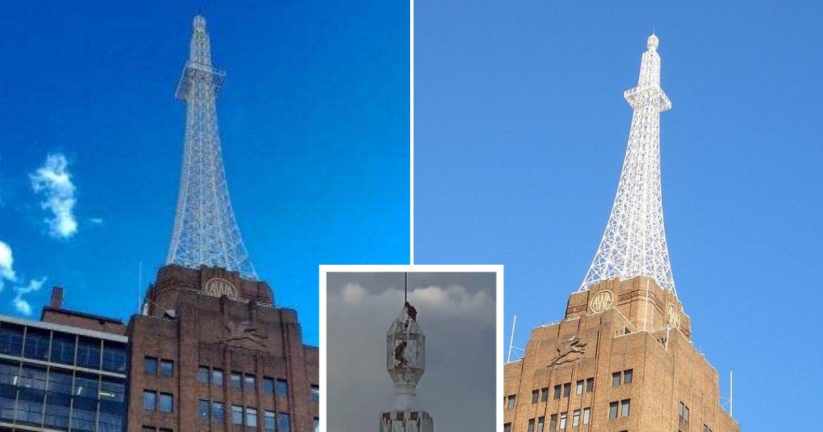 untitled design 72 1.png?resize=1200,630 - Deux garçons sont montés au sommet d'une grande tour pour prendre un selfie