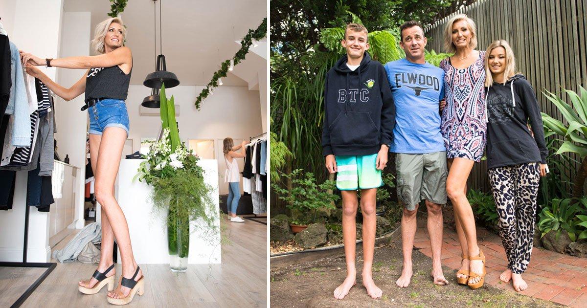 woman longest legs.jpg?resize=412,232 - Australian Ex-Model Has The Longest Legs That Measure 51.5 Inches From Hip To Heel