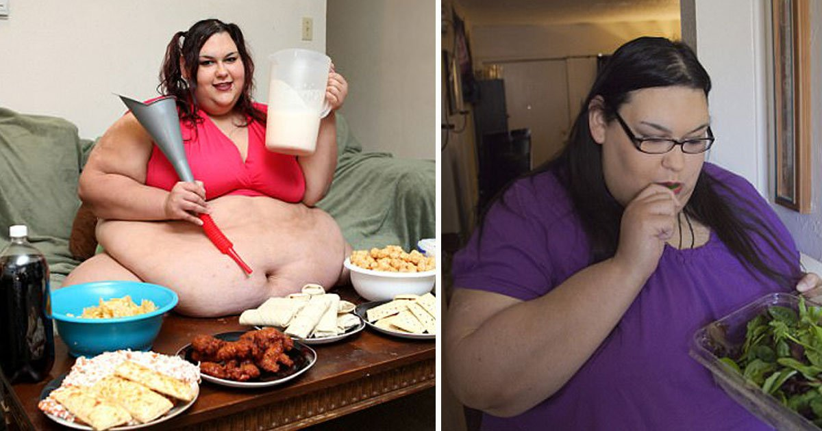woman lost 210lbs.jpg?resize=1200,630 - Woman - Who Wanted To Become The Fattest Woman In The World - Has Now Lost 201lbs In Just Ten Weeks After Two Miscarriages
