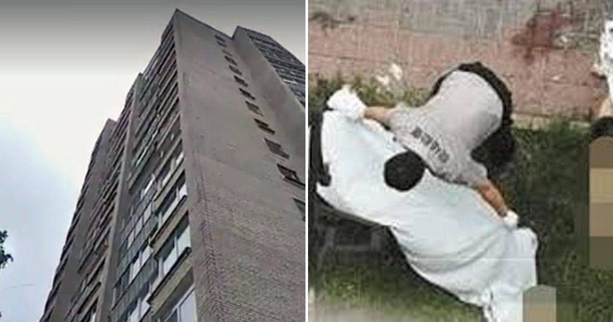 woman3.png?resize=1200,630 - Couple Falls From Ninth Floor Window While Making Love, Man Survives But Woman Passes Away