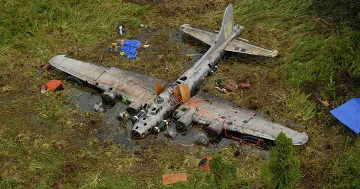 wwii plane.jpg?resize=412,275 - Restaurant Developer Discovered The 'Holy Grail' Of WWII Relics After Searching The Jungle For Years