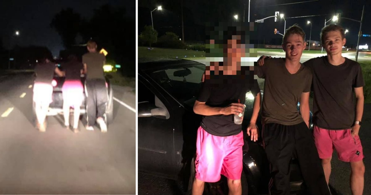 y6 16.png?resize=1200,630 - Three Teenagers Pushed A Woman's Car for 5 Miles
