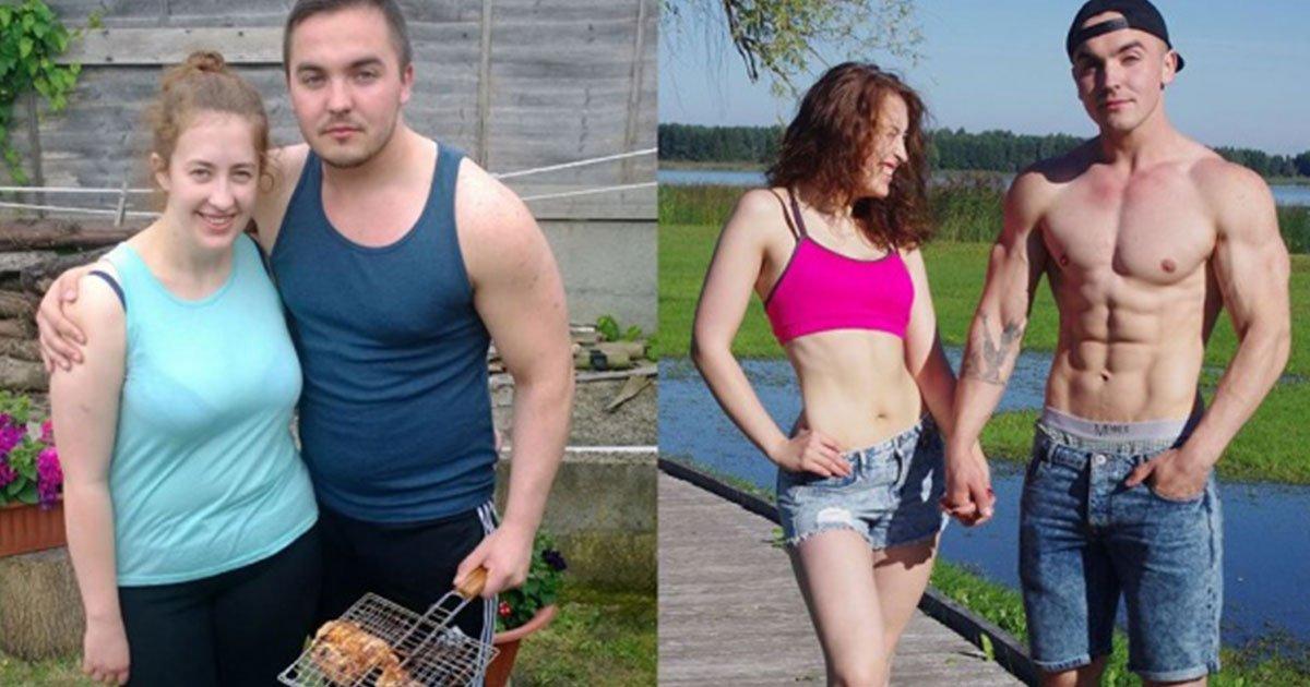10 inspiring stories of couples who motivated each other to lose weight.jpg?resize=300,169 - Histoires inspirantes de couples qui se sont motivés pour perdre du poids ensemble