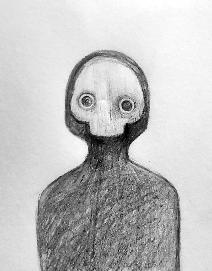 Say Hi To This Unsettling Little Fella Who Popped Up In My Dreams Last Night