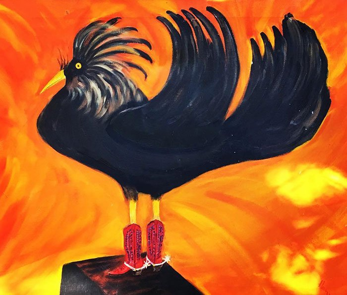 I Have Always Had A Bit Of A Wild Nightlife. This Rooster Woke Me Out Of My Dream