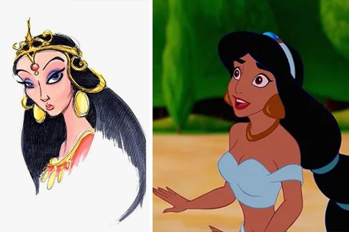 Princess Jasmine In Aladdin (1992)
