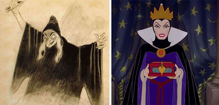 The Evil Queen In Snow White And The Seven Dwarfs (1937)