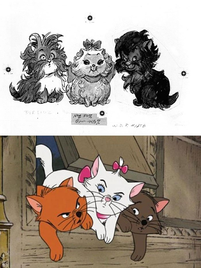 Aristocats In The Aristocats (1970)