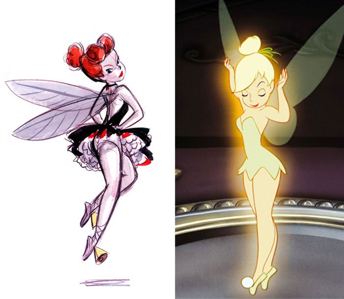 Tinker Bell In Peter Pan (1953)