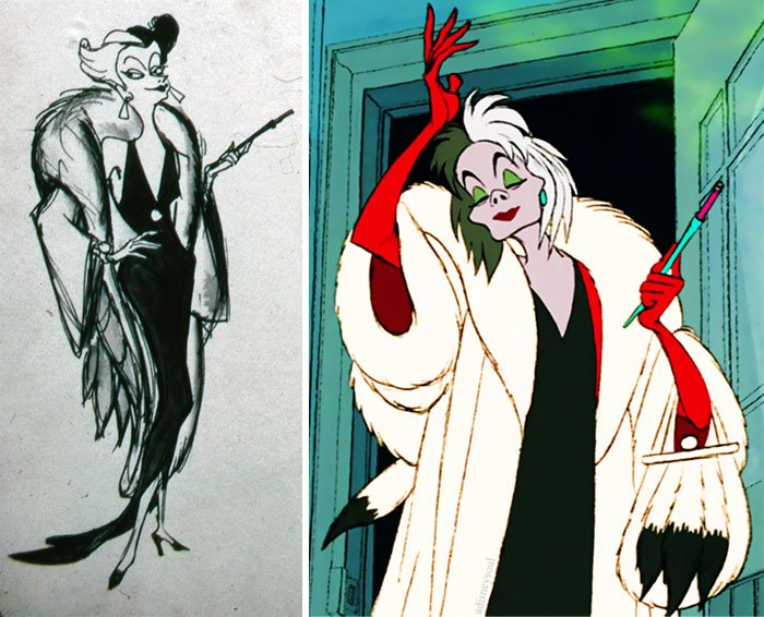Cruella De Vil In One Hundred And One Dalmatians (1961)
