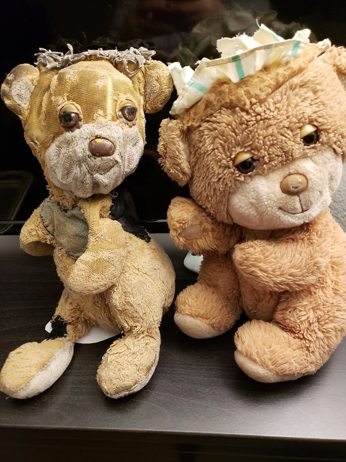 My Brother And I Each Received Identical Teddy Bears When We Were Born. I Loved Mine Just A Bit More...