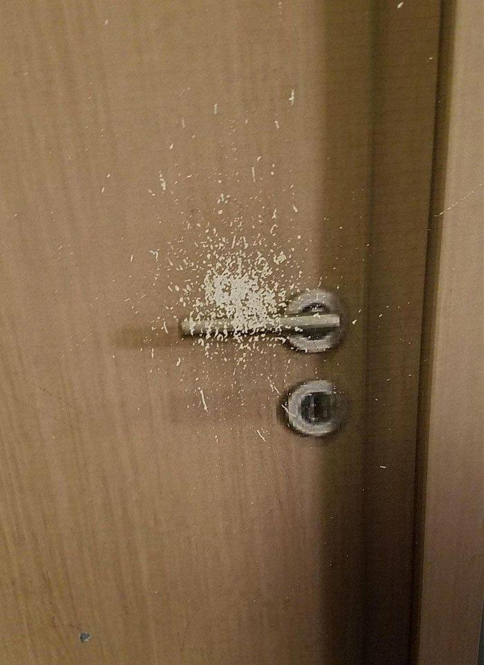 Fake Door At IKEA