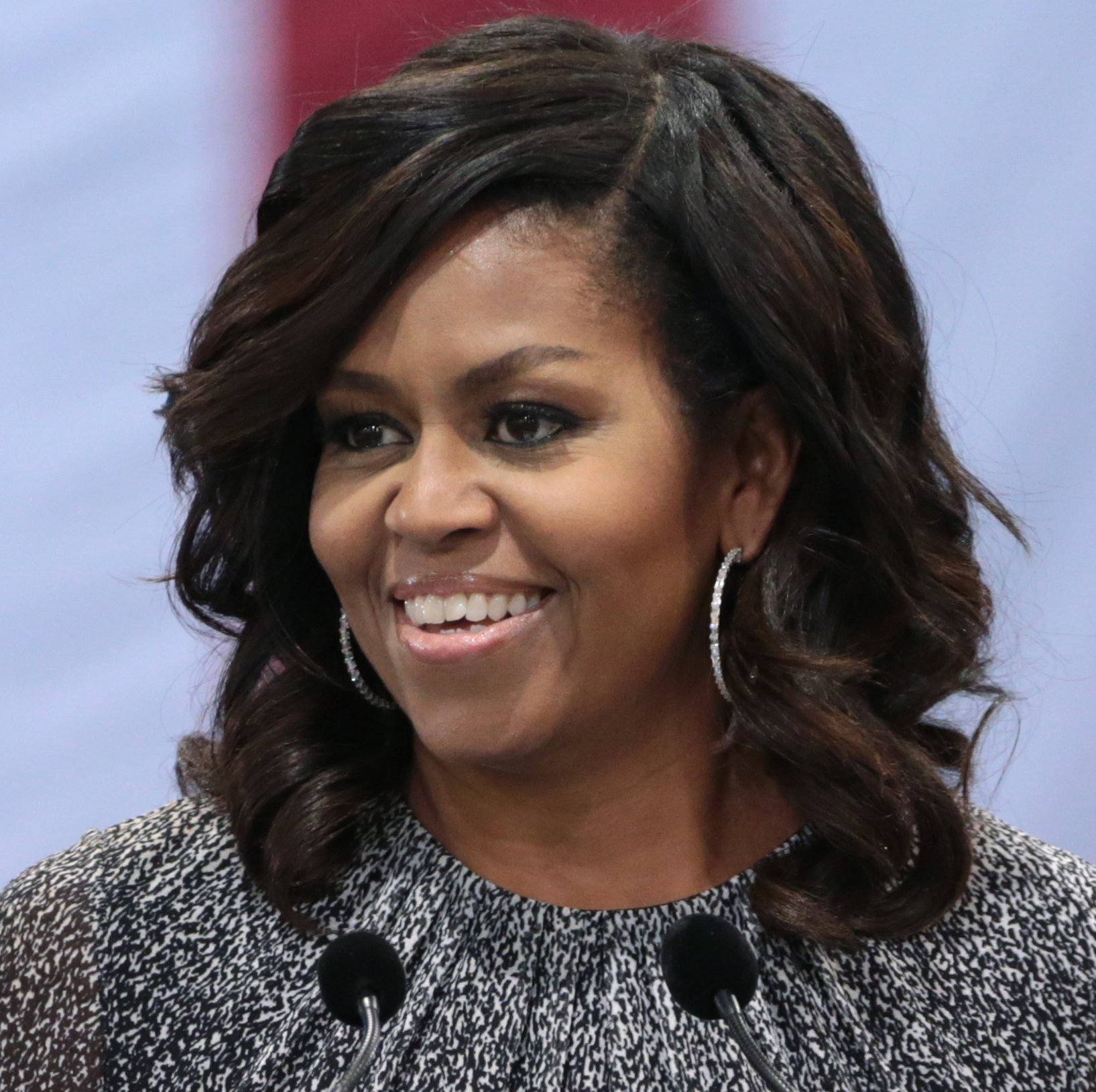https://commons.wikimedia.org/wiki/File:Michelle_Obama_(30343251332)_(cropped).jpg