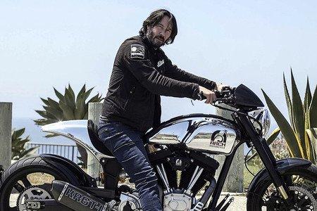 Resultado de imagen de Keanu Reeves moto