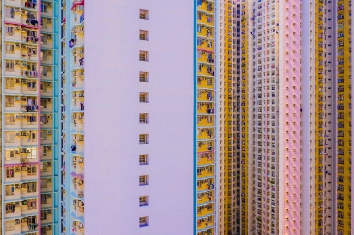 Sherbert Density - The Block Tower, Toby Harriman, Cities