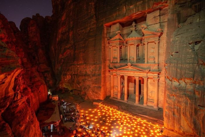 Petra By Candlelight, Enrico Pescantini, Cities