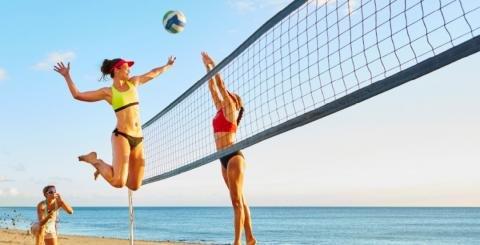 Resultado de imagen de voleibol playa