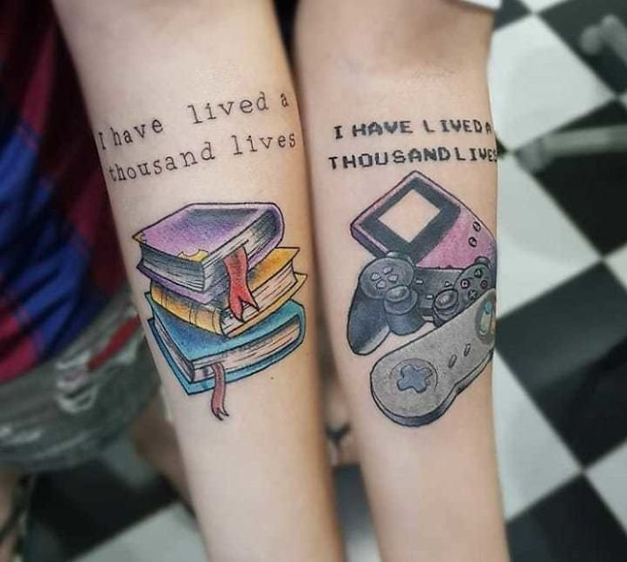 Matching Tattoos