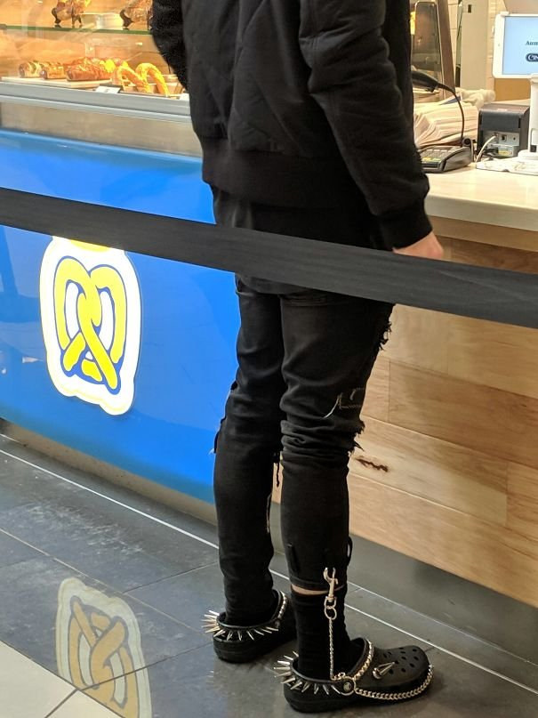 Wallet Chain Ankle Crocs - Thank You Small Town Malls