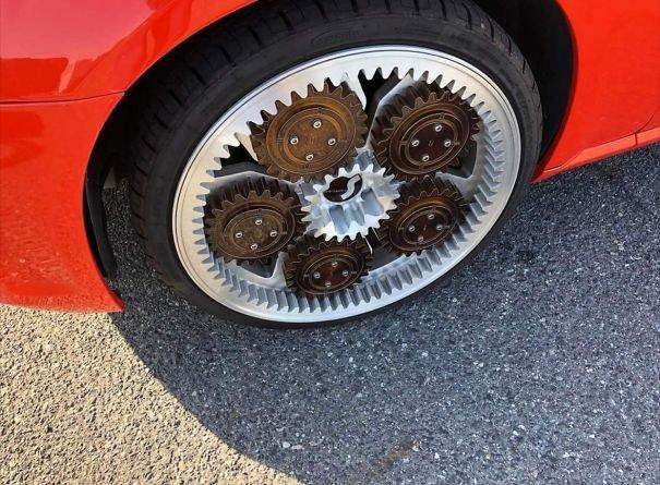 Steampunk Wheels
