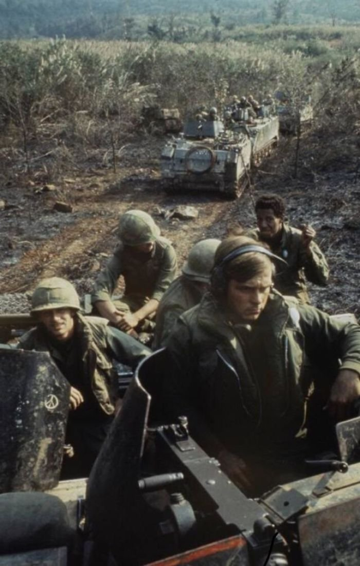 My Dad (Front) In Vietnam In 1971. He Didn't Know This Photo Existed Until I Came Across It Randomly On The Internet. He Cried When He Saw It