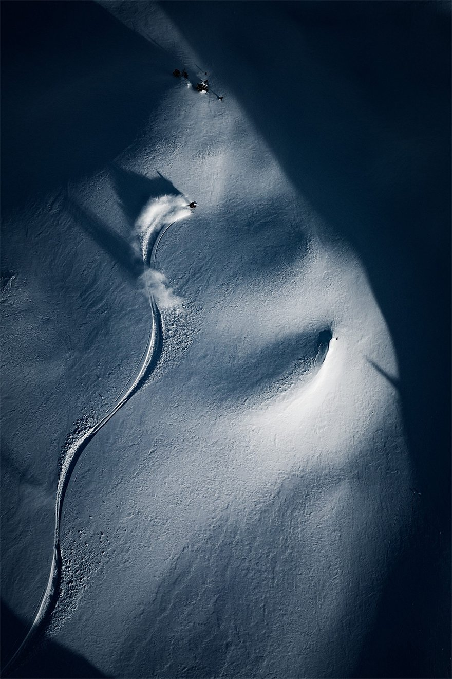 "Second Prize Winner In Sport Category, ""Shadow Skier #5"""
