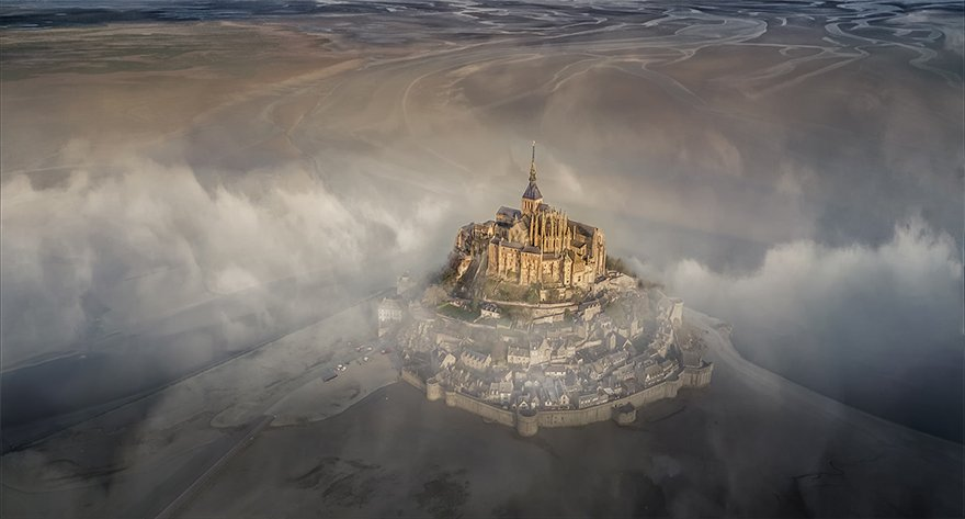 "Grand Prize Winner, ""Mont Saint Michel"""