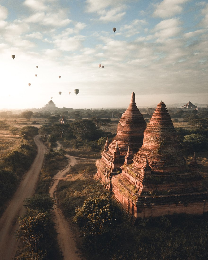 "Second Prize Winner In Architecture Category, ""Bagan"""