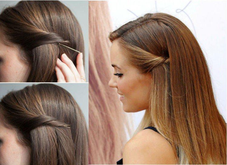 Resultado de imagen de fijar pasadores cabello