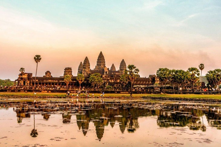 Angkor Wat en Angkor, Camboya