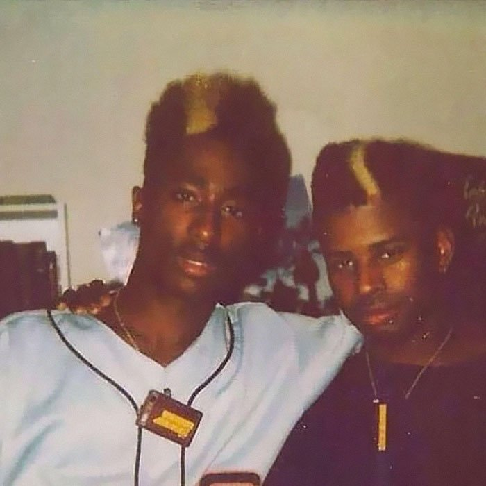 My Uncle And His Best Friend. Apparently He Was Some Famous Rapper Back In The Day