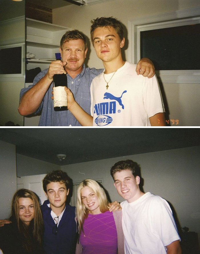 Just Found These Pics Of Leo With My Family... (He Dated My Aunt)