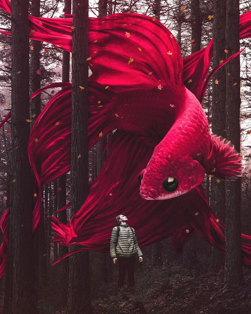 Artist Challenges Logic And Stimulates Creativity With Its Incredible Digital Manipulations