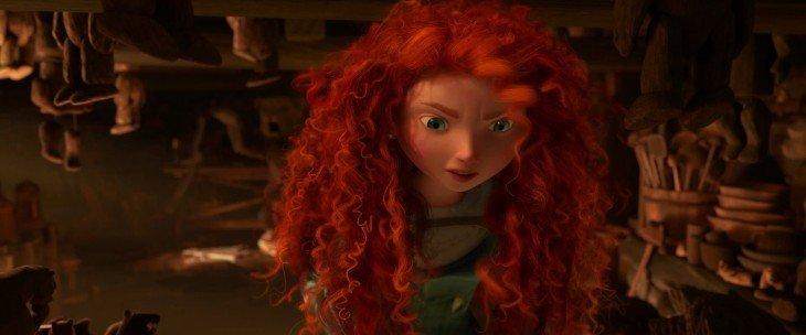 Escena de la película Valiente de Disney Pixar