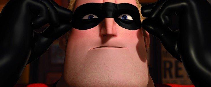 Cara de Mr. Increíble de la película los increíbles