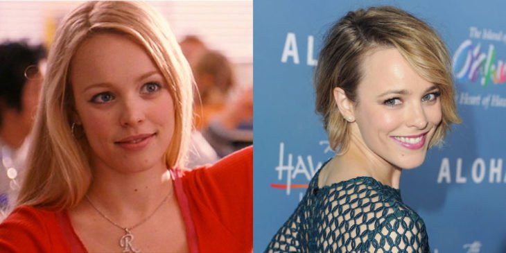 rachel adams antes y después de mean girls