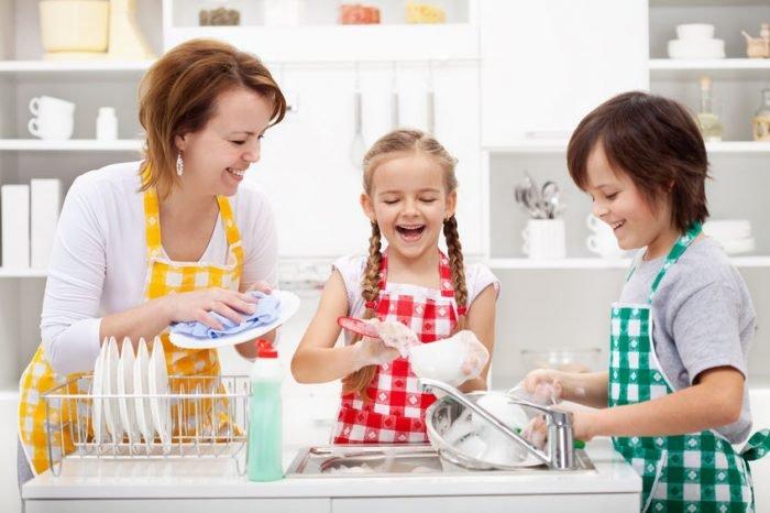 Resultado de imagen de ayudar en las tareas del hogar