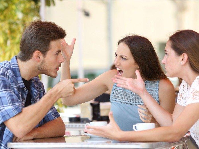 Resultado de imagen de discusión familiar