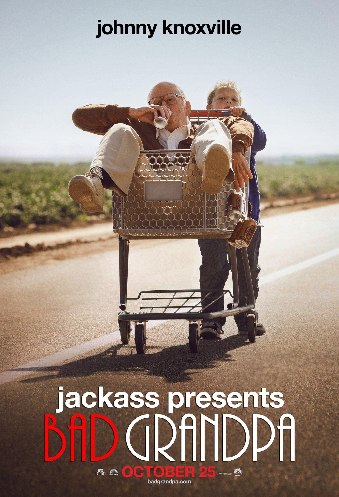 Resultado de imagen de Jackass Presents: Bad Grandpa