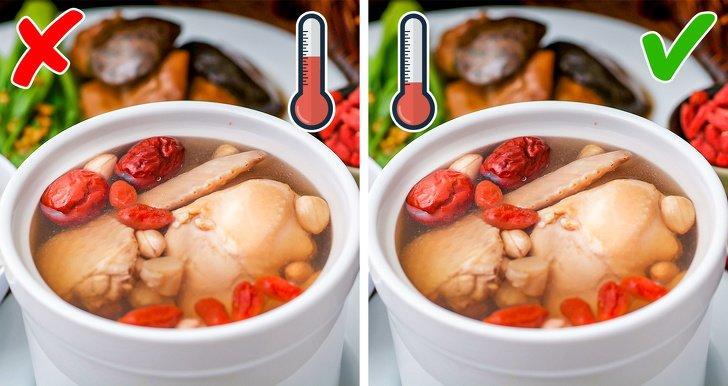 10Errores culinarios que cometen incluso los chefs experimentados