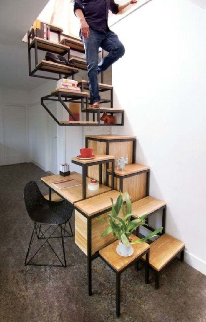 For When You Want A Near Death Experience Every Time You Use The Stairs