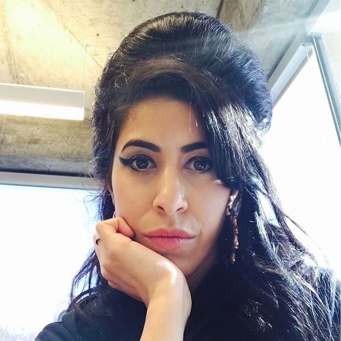Amy Winehouse? Nope!