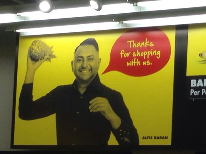 Thanks For Shopping. Now Get Out Before I Throw A Pineapple At You!