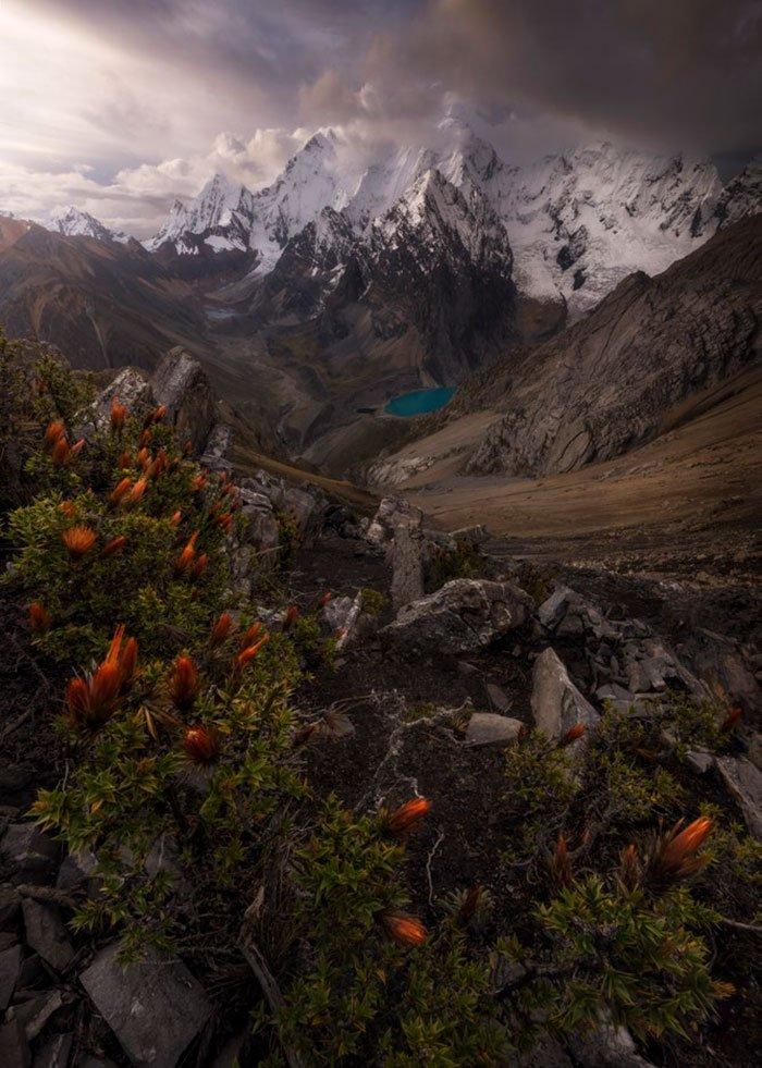 San Antonio Pass, Cordillera Huayhuash, Peru, Matt Jackisch