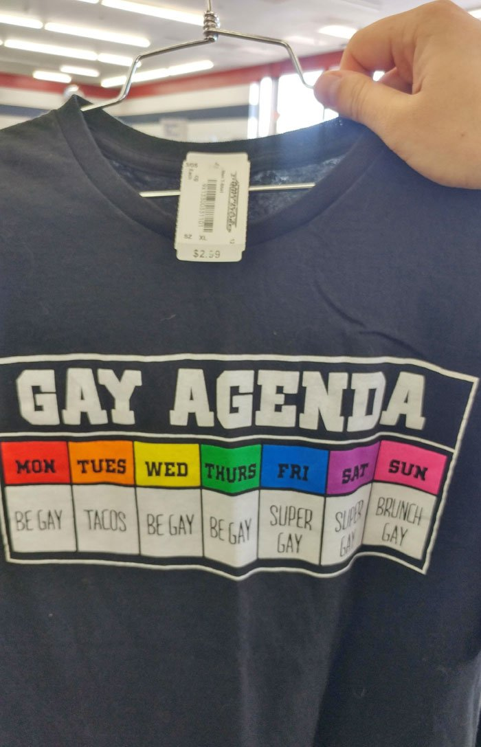 As A 100% Straight Man, I Had To Have This Shirt