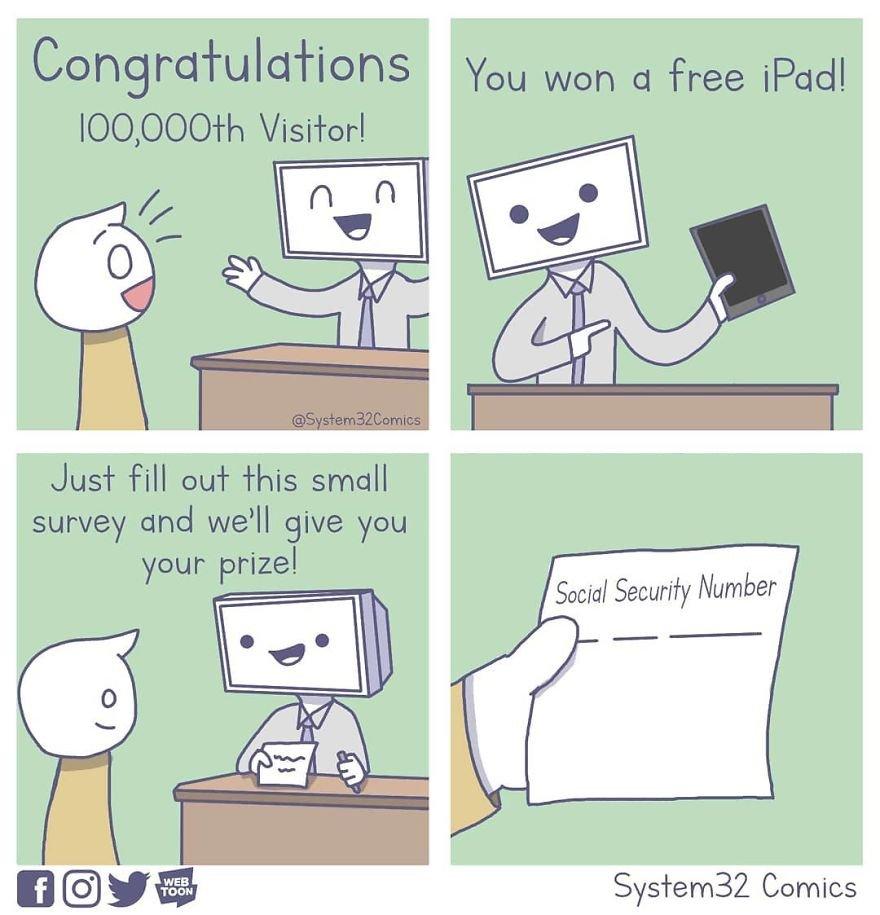 Sketchy Ads In Sketchy Websites
